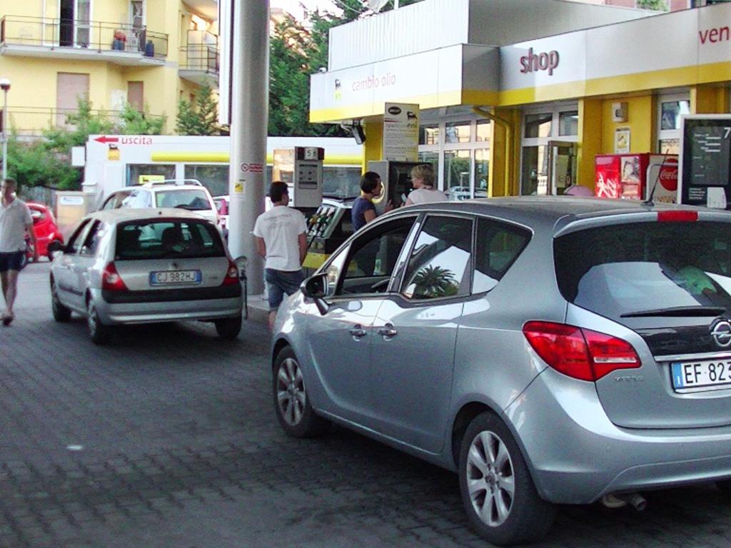 code benzina