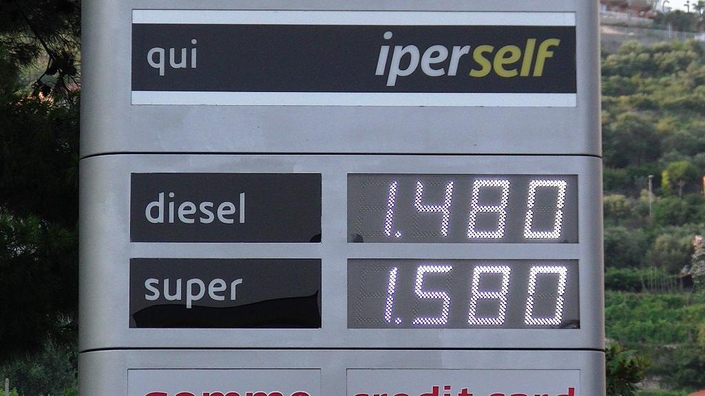 Code benzinai - prezzi benzina