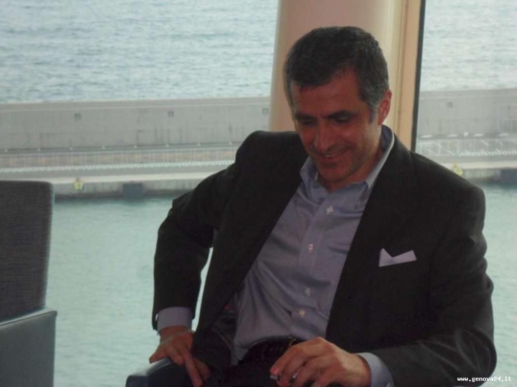 Direttore generale di Royal Caribbean Italia, Gianni Rotondo