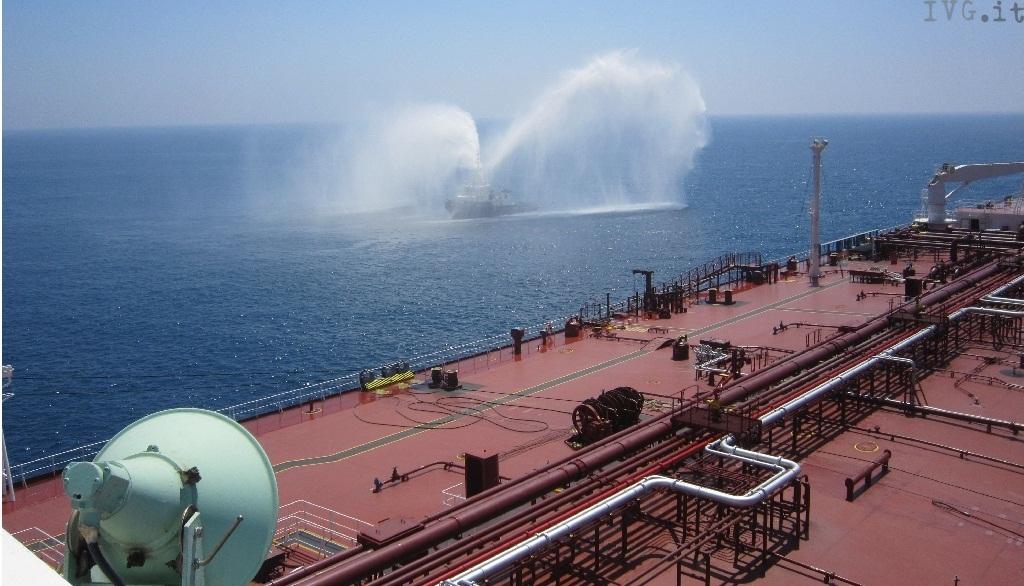 esercitazione capitaneria petroliera
