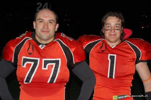 football americano Predatori del Golfo del Tigullio