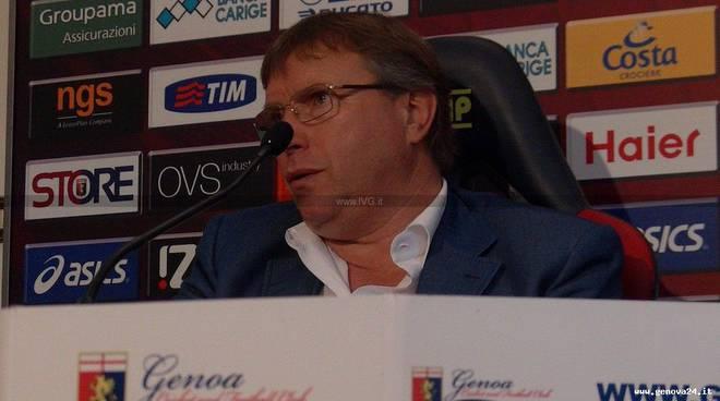 Genoa - presentazione Lo Monaco