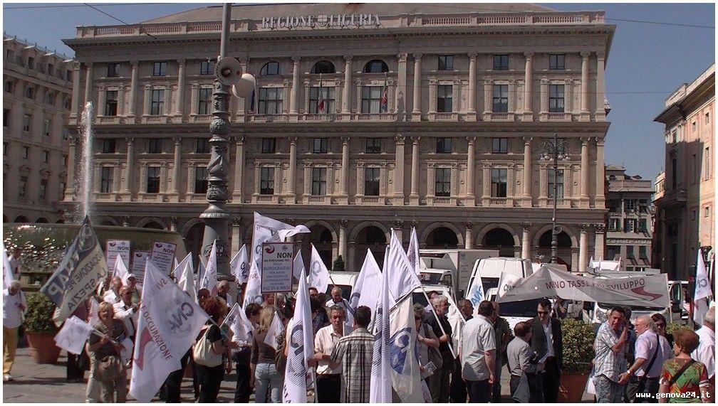 Genova - protesta CNA