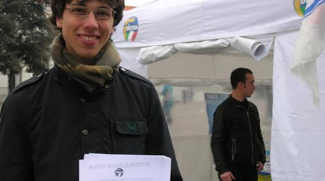 gioventù italiana, la destra