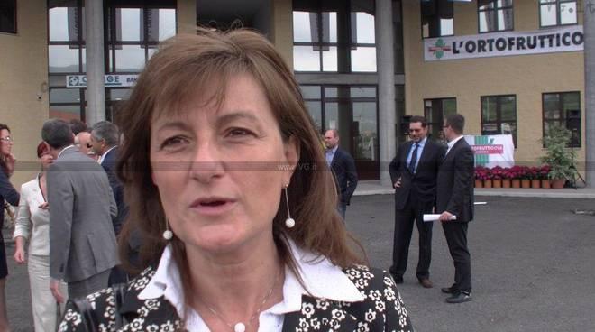 Lorena Rambaudi - inaugurazione Ortofrutticola