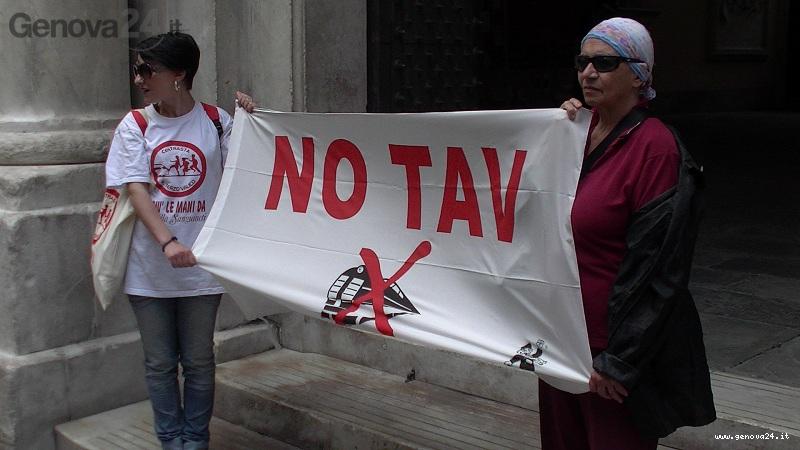 manifestazione no tav a Tursi 5