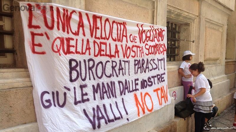 manifestazione no tav a Tursi 6