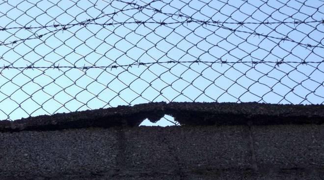 Muro ex caserma Bligny di Legino