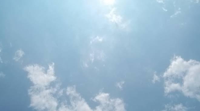nuvole e sole