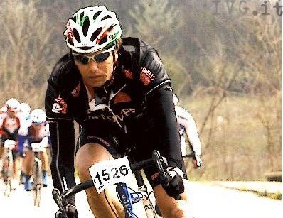 paolo de scalzi, ciclista amatoriale