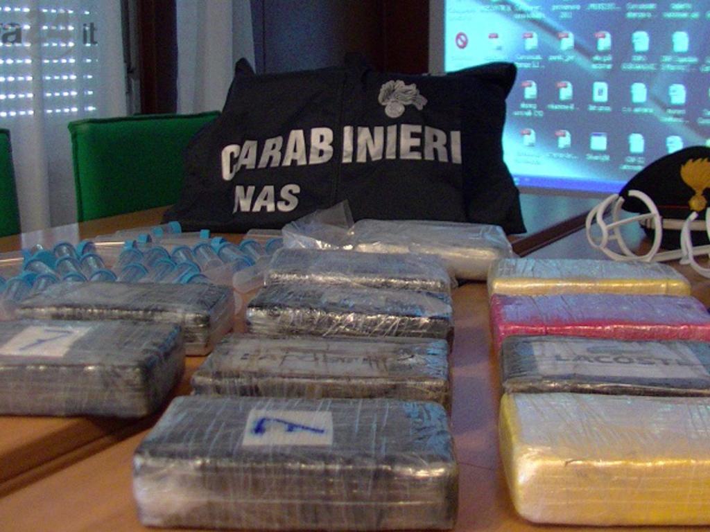 sequestro cocaina, nas