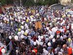 Albenga corteo pro-ospedale - occupy