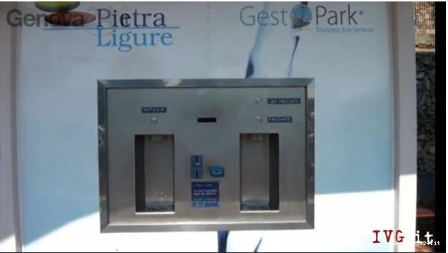 distributore acqua pubblica garrone