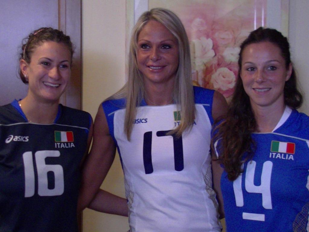 nazionale pallavolo femminile bosetti gioli lo bianco
