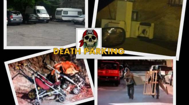 parcheggio rivarolo, rom