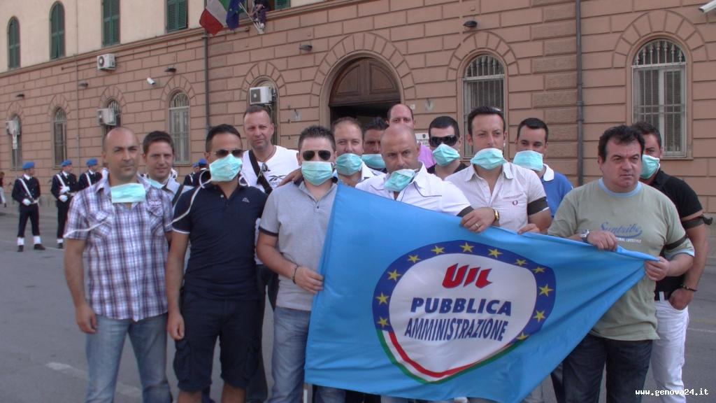 polizia penitenziaria manifestazione