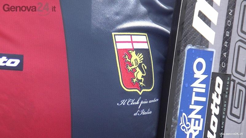 presentazione maglia genoa 2012