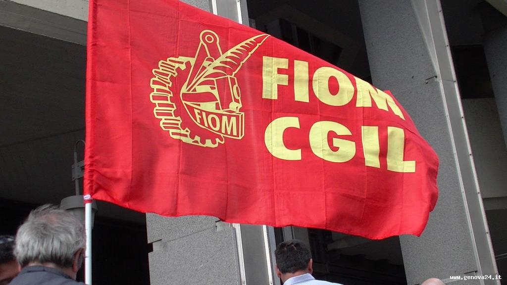 presidio fiom bandiera
