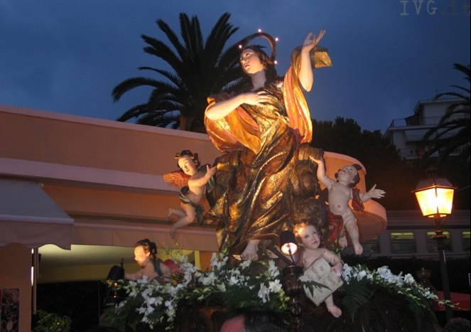 processione maria maddalena laigueglia