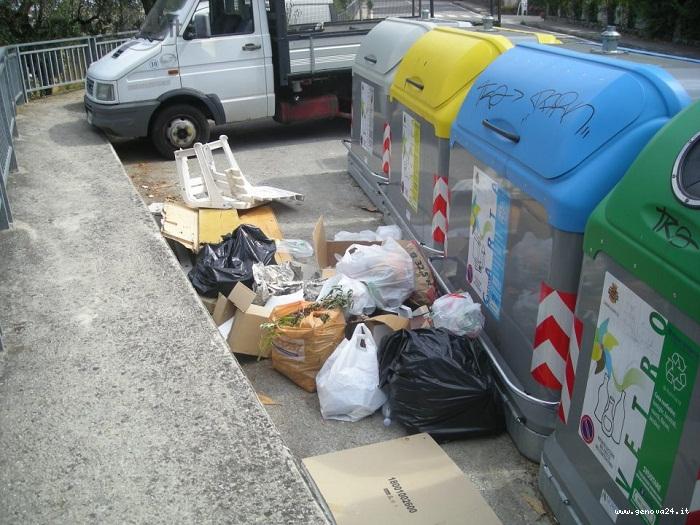 rapallo spazzatura