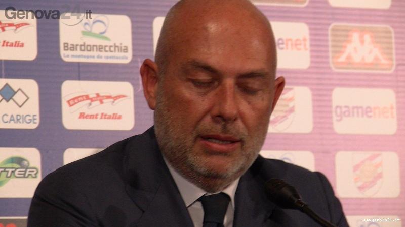sampdoria presenta ciro ferrara 10 edoardo garrone