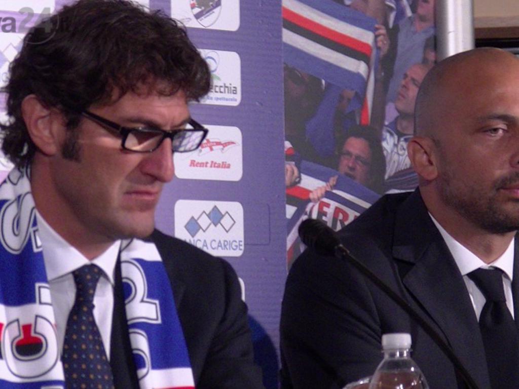 sampdoria presenta ciro ferrara 12