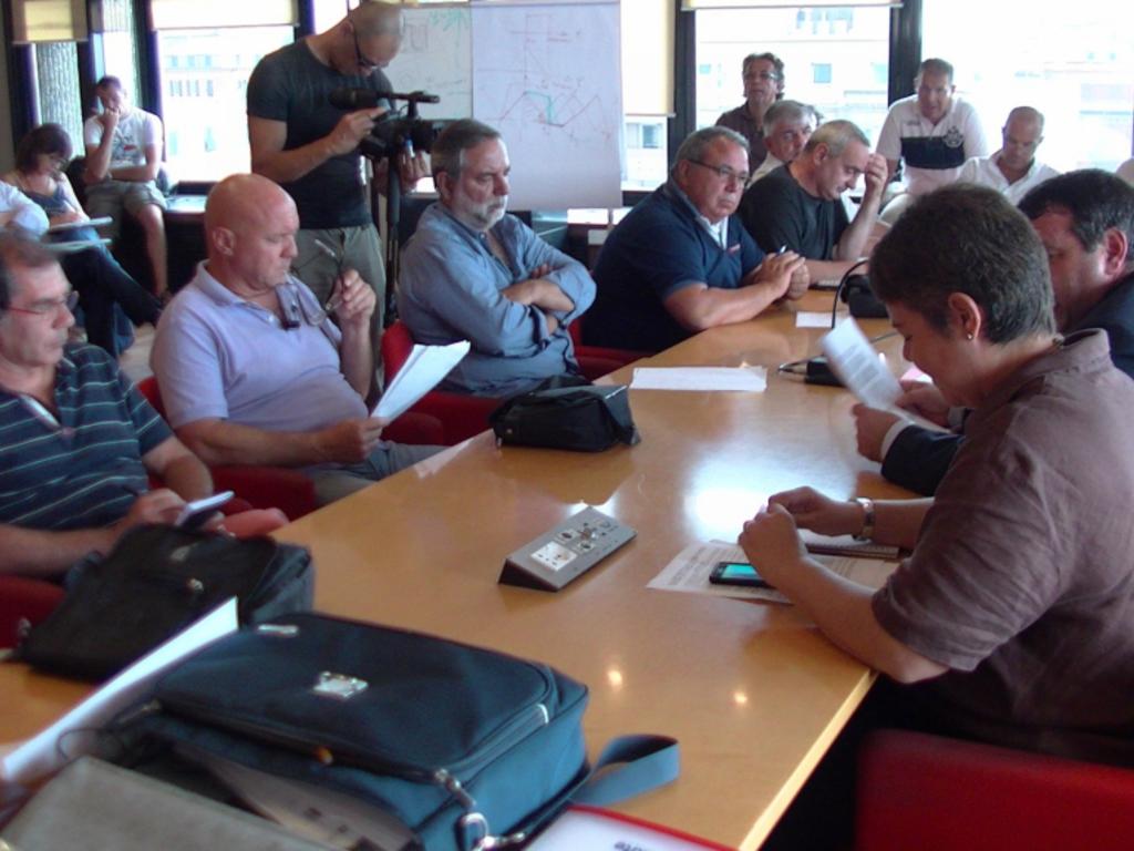 Amt incontro sindacati Vesco in Regione 2