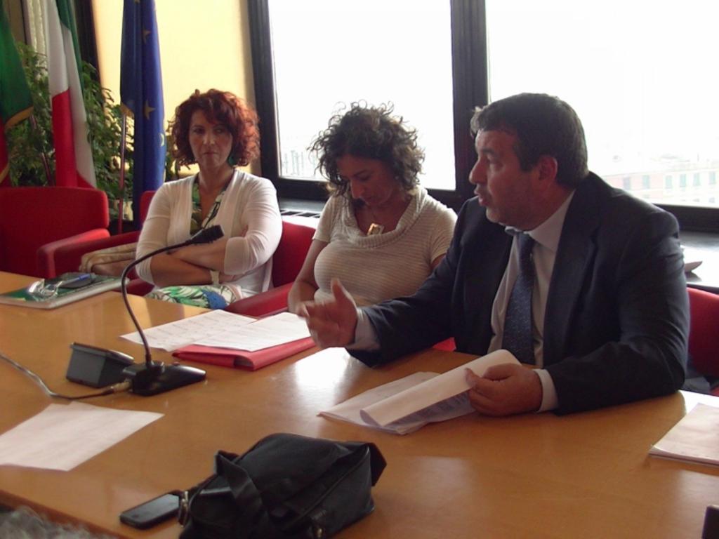 Amt incontro sindacati Vesco in Regione