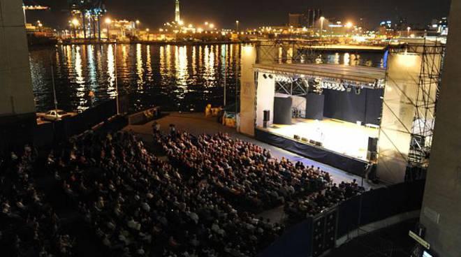borghetto, palco arena del mare