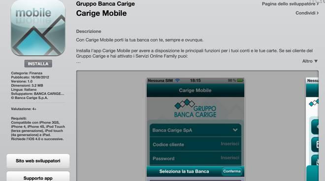 carige mobile