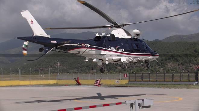 Elicottero Carabinieri Villanova