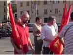 Genova la protesta dei lavoratori ILVA