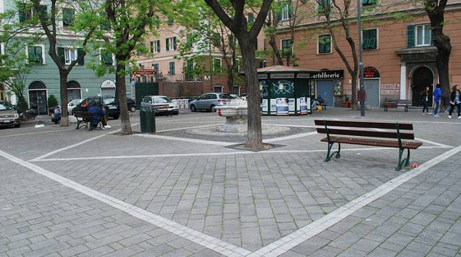 piazza manzoni, municipio bassa valbisagno