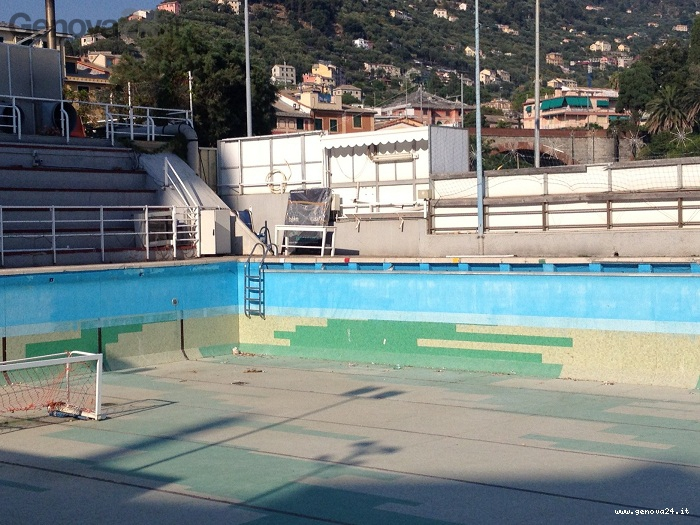 piscina nervi, degrado
