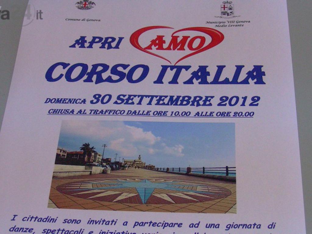 apriamo corso italia 3