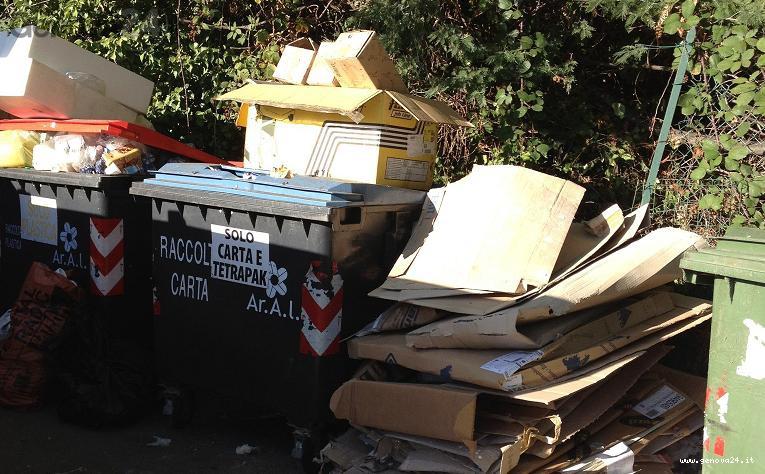 arenzano rifiuti