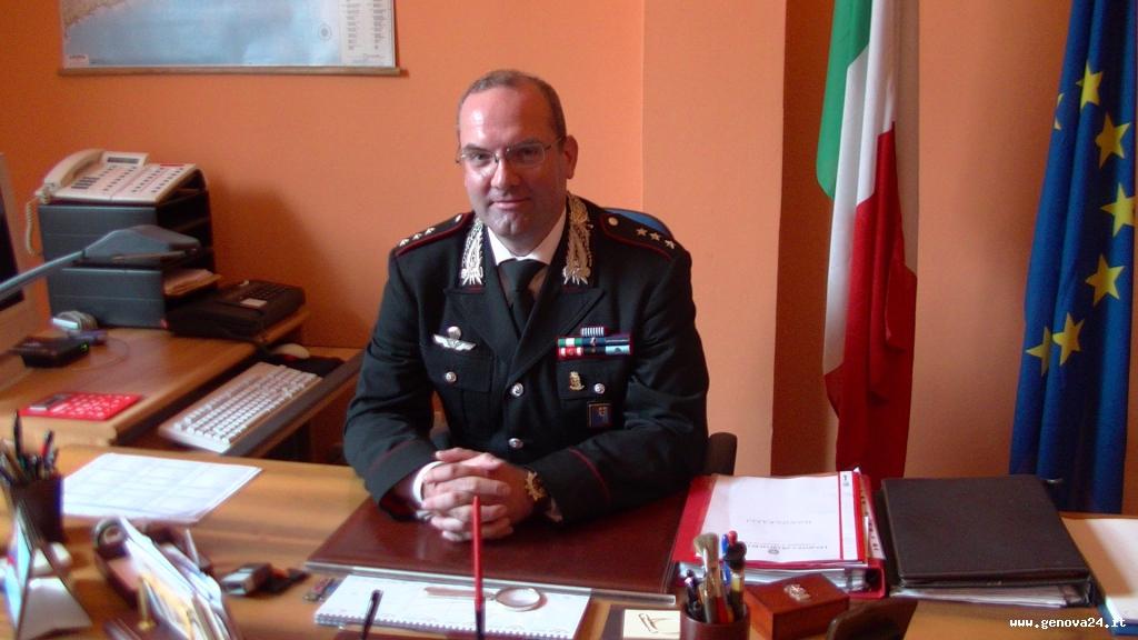 comandante carabinieri santa margherita, capitano antonio de rosa