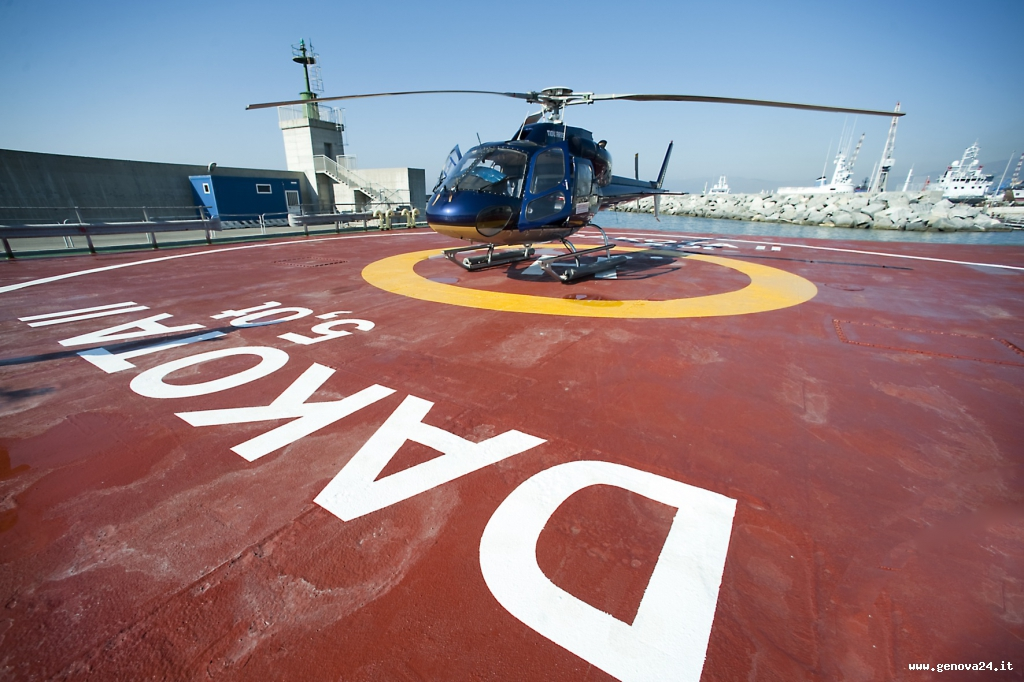 elicottero salone nautico