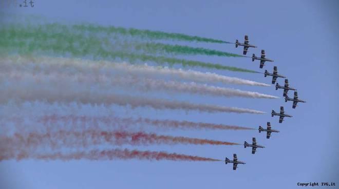 Frecce Tricolori ad Albenga