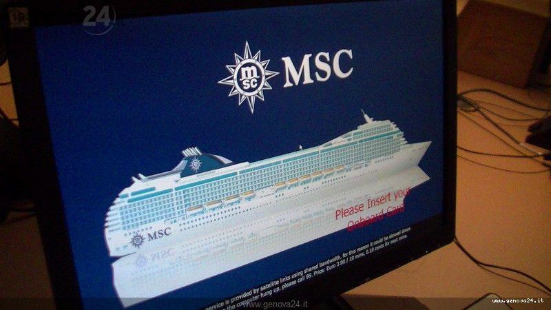 Genova - MsC magnifica scambio crest