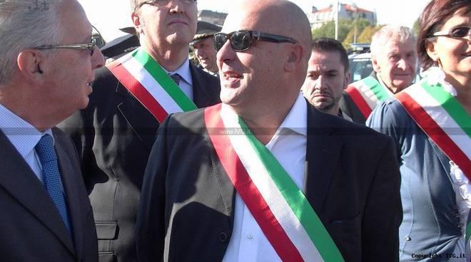 Livio Di Tullio - fascia tricolore
