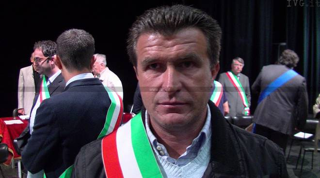 Marco Perrone, sindaco Giusvalla