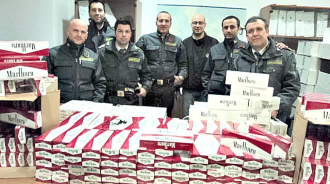 sigarette contrabbando guardia di finanza