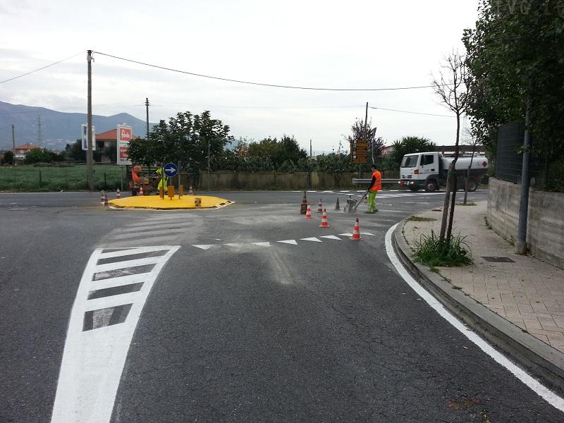 albenga segnaletica stradale
