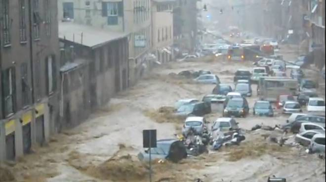 alluvione 2011 esondazione Fereggiano
