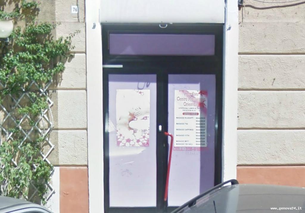 centro massaggi paradise luci rosse