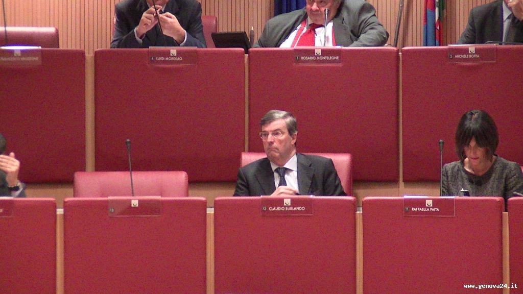 consiglio regionale Claudio Burlando