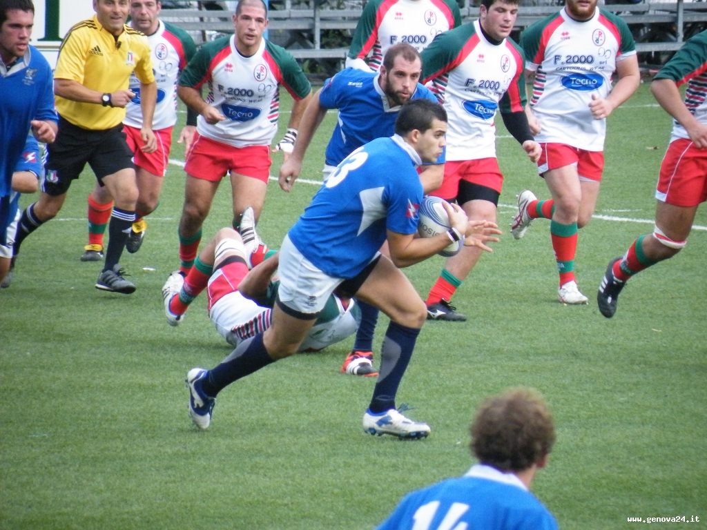 Diego Bisso Pro Recco Rugby