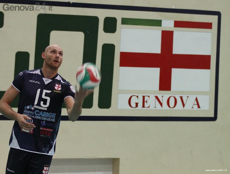 Massimo Pecorari pallavolo genova