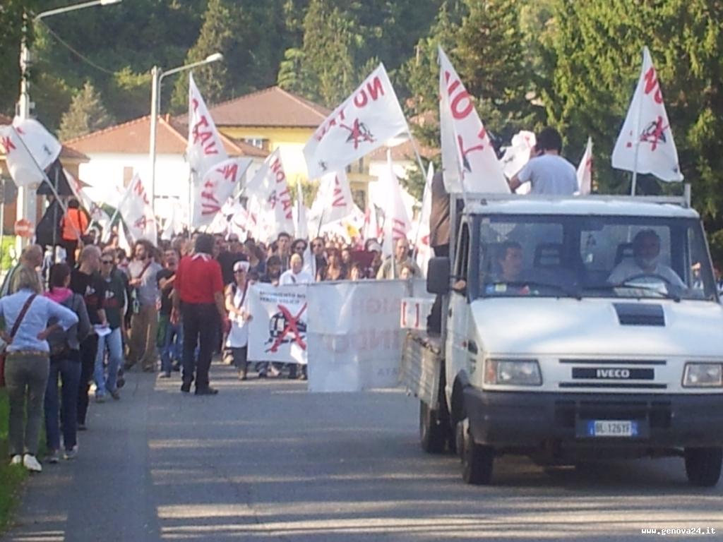 no terzo valico manifestazione 6 ottobre marcia popolare